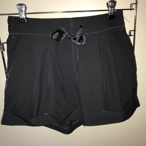 Pants - Dark grey sport shorts